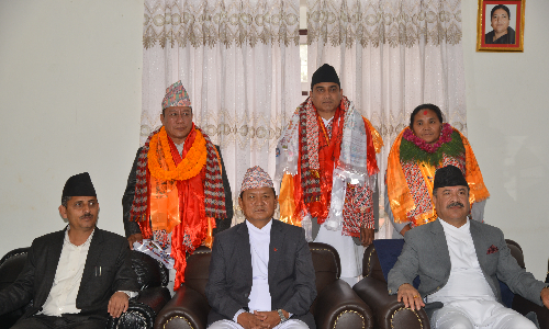 After Oath Programme of newly Ministers